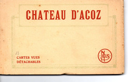 Château D'Acoz: Carnet Avec 13 Cartes - Gerpinnes