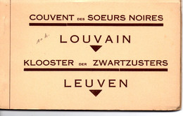 Leuven: Klooster Der Zwartzusters: Boekje Met 10 Kaarten - Leuven