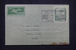 PAKISTAN - Aérogramme De Rawalpindi Pour La France  - L 99754 - Pakistan