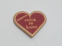 Pin's CŒUR DE LIONS, SURESNES - Autres