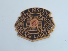 Pin's CHAMPAGNE LANSON, BLACK LABEL - Bevande