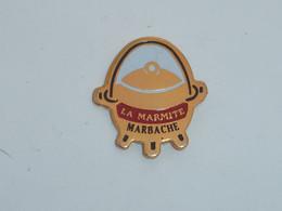 Pin's RESTAURANT LA MARMITE A MARBACHE (54) - Alimentazione