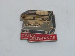 Pin's PERCOLATEUR CAFE ASSISTANCE - Alimentazione