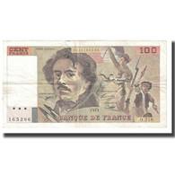 France, 100 Francs, Delacroix, 1993, BRUNEEL, BONARDIN, VIGIER, TTB - 100 F 1978-1995 ''Delacroix''
