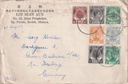 MALAISIE -KEDAH 1951 LETTRE DE PATANI - Kedah