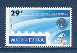 ⭐ Wallis Et Futuna - Yt N° 389 - Neuf Sans Charnière - 1989 ⭐ - Unused Stamps