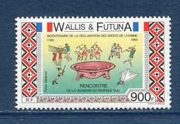 ⭐ Wallis Et Futuna - Yt PA N° 166 ** - Poste Aérienne - Neuf Sans Charnière - 1989 ⭐ - Nuevos