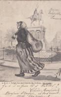 LIEGE / LA MARCHANDE DE CHIFFONS 1902 - Liège