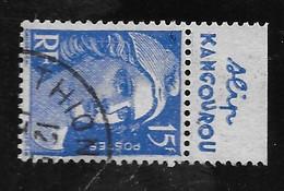 Gandon 886  Type II Carnet  Bande Pub Publicité Publicitaire Slip Kougourou   Oblitéré - Publicidad