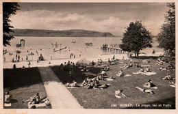CPA - MORAT (MURTEN) - La Plage Lac Et Vully ... - FR Fribourg