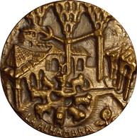ESPAÑA. MEDALLA F.N.M.T. DEDICADA A LA ALHAMBRA. 1.960. BRONCE. ESPAGNE. SPAIN MEDAL - Professionals/Firms