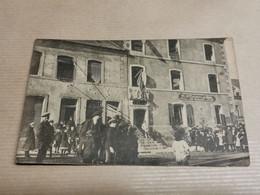 Une Maison Atteinte Par Une Bombe à Dudelange, 1918 - Altri