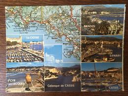 LA CIOTAT SAINT CYR LES LECQUES BANDOL CASSIS SANARY CASSIS - Provence-Alpes-Côte D'Azur