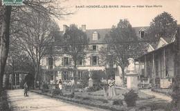 58 - Saint-Honoré-les-Bains - Hôtel Vaux-Martin Animé - Saint-Honoré-les-Bains