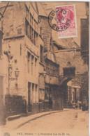 ANTWERPEN / OUDE STRAAT NAAR HET STEEN / ANCIENNE RUE DU STEEN 1910 - Antwerpen