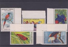 Série PA N° 31 à 35 Du Sénégal Neufs Sans Charnières BDF - Collections, Lots & Series