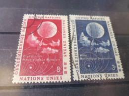 NATIONS UNIES NEW YORK  YVERT N°48.49 - Gebraucht