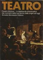 RARO LIBRO - C. MOLINARI - TEATRO Lo Spettacolo Drammatico Dalle Origini Ad Oggi 1972 MONDADORI - Cinema E Musica