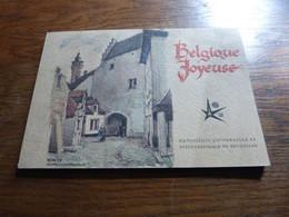 Plaquette Expo 58 Bruxelles Exposition Universelle Belgique Joyeuse Illust. Herman Verbaere - Unclassified