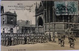 METZ—Avant La Messe Militaire Le Dimanche à La Cathédrale - Metz