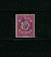 Timbre Perforé, étoile, Sigle 20-5, Timbre Social D'Alsace, Indice 8, En Très Bon état. Assez Rare à Trouver. - Gezähnt (Perforiert/Gezähnt)