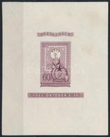 ** 1951 Lila Blokk, Vágott (400.000) ( Jó állapotú Blokk Elöl Jobb Oldalon Ujjlenyomat, A Gumin Pici Ránc / Good Quality - Non Classificati