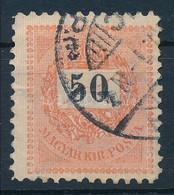 O 1898 50kr 11 1/2 Fogazással (60.000) - Non Classificati