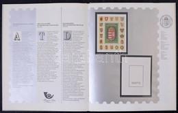 ** 1990 Bélyegkincstár Tokban,benne A Magyar Köztársaság Címere I. Hologramos Blokk Fekete Sorszámmal (60.000++) - Non Classificati
