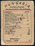 Hungária Bélyegújság Tervezetének Német Nyelvű Kézirata 4,5 Cm X 6 Cm Méretben, érdekes, Egyedi Darab!!!! - Non Classificati