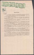 """1916-1921 Meghatalmazás Többször érvényesítve """"KISMARTON"""" - Non Classificati"""