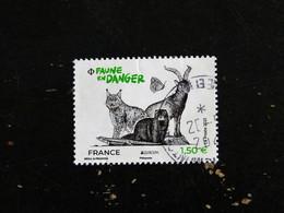 FRANCE YT ???? OBLITERE - EUROPA FAUNE EN DANGER LYNX VISON PAPILLON - Used Stamps