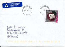 Norway Cover Sent To Germany Tönsberg 12-10-2016 Single Franked - Lettres & Documents