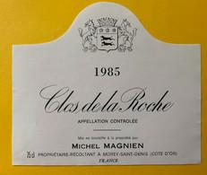 19629 - Clos De La Roche 1985 Michel Magnien - Bourgogne
