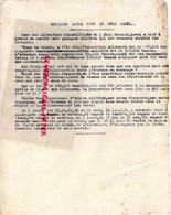 87- LIMOGES- GUERRE 1939-1945- MUR- RESISTANCE- LAVAL- ALLEMAGNE -LES FRANCAIS CREVENT DE FAIM-COLLABORATION - Guerra 1939-45