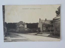 1937 CP Marchipont Honnelles Rue D' Angres Et La Pompe - Honnelles