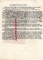 87- LIMOGES- GUERRE 1939-1945- MUR- RESISTANCE- AVERTISSEMENT AUX TRAITRES-VICHY-BOUSQUET -COLLABORATION-DEPORTATION- - War 1939-45