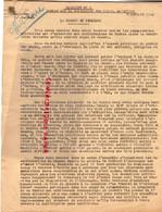 87- LIMOGES- GUERRE 1939-1945- MUR  7 -10-1943-- RESISTANCE-  ARCHIVE GASTON HILAIRE ALIAS LEONIE-RUSSIE-HONGRIE- - War 1939-45