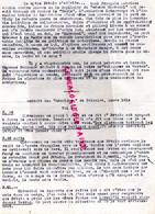 87- LIMOGES- GUERRE 1939-1945- MUR - RESISTANCE-  ARCHIVE GASTON HILAIRE ALIAS LEONIE-MYTHE PETAIN CAGOULARD - War 1939-45