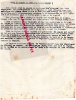 87- LIMOGES- GUERRE 1939-1945- MUR - RESISTANCE-  ARCHIVE GASTON HILAIRE ALIAS LEONIE-VICHY PETAIN- MAQUIS MONT AIGOUAL- - Guerra 1939-45