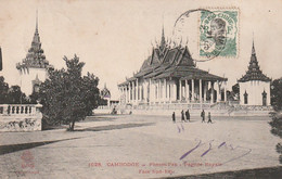 ***  CAMBODGE  ***  PHNOM PENH  Pagode Royale Pavillon TTB - Cambodja