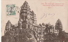 ***  CAMBODGE  ***  Ex CAMBODGE  ANGKOR VAT  Tour Centrale Et Trois Tours D'angle  - TTB - Cambodja
