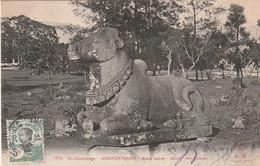 ***  CAMBODGE  ***  Ex CAMBODGE ANGKOR THOM  Boeuf Sacré TTB - Cambodja