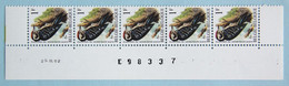 Pic 1F  Bande Datée état Neuf (**)      25.03.92 - 1985-.. Oiseaux (Buzin)