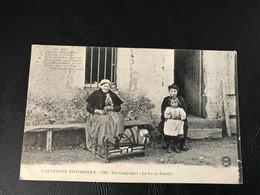 L'AUVERGNE PITTORESQUE - 1391 - Nos Campagnes - La Vie De Famille - Other Municipalities