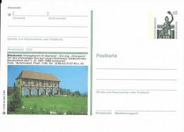 ALLEMAGNE Architecture SAAR SAARLAND BLIESKASTEL ORANGERIE VON DER LEYEN SCHLOSS CHATEAU BURG CASTLE BAUDENKMAL 1989 - Castillos
