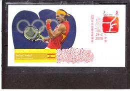 Chine/china - Jeux Olympiques De Pékin 2008 - Rafael Nadal - Tennis - 2000-2009