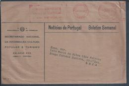 Rara Flâmula Do SNI Do Estado Novo De 1964. 'Visite Portugal'.  Rare Banner Of The SNI Of Estado Novo. Visit Portugal'. - Covers & Documents