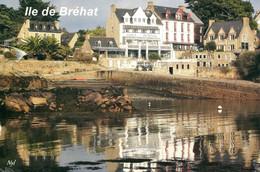 22 - Ile De Bréhat : Le Port Clos (Tracteurs) - Ile De Bréhat