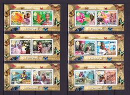 GUINEA - 2006 - CEPT - Blocs 915/920 - Sammlungen