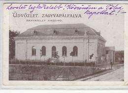 ZAGYVAPALFALVA  -    Bányatelep Kaszino 1925   ,  Salgótarján , Bergbau , Mining - Hungary